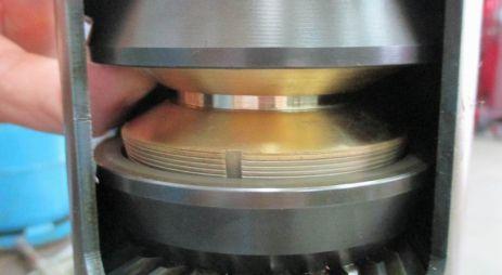 Stern drive shaft cone