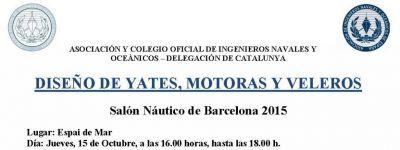 Salón Náutico de Barcelona: jornada de diseño de yates